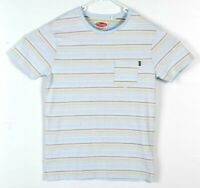 Mambo T Shirt Mens Size Small Casual Striped Cotton Top S Tee Surf Beach Culture