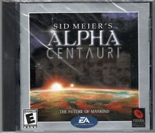 Sid Meier's ALPHA CENTAURI PC Game CD-ROM Strategy