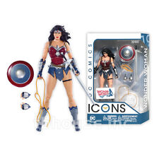 WONDER WOMAN figure DC COMICS ICONS collectibles THE AMAZO VIRUS justice league