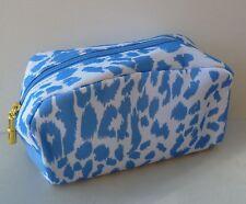 1x ESTEE LAUDER Blue & White Makeup Cosmetics Bag, Brand NEW!