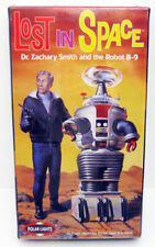 1999 Polar Lights Lost In Space Model Dr Zachary Smith & Robot B-9 Sealed