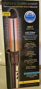 Infiniti Pro By Conair Nano Tourmaline Ceramic Hot Curl Brush; 1 1/4 -inch *NEW*