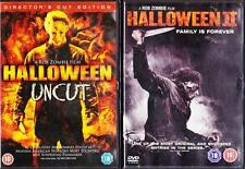 HALLOWEEN & HALLOWEEN II [2,Two] [Director's Cut] Rob Zombie Horror DVD *EXC*