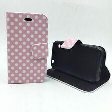 Funda Bolso Cubierta Puntos Bumper Protección para Móvil Apple Iphone 3 3gs