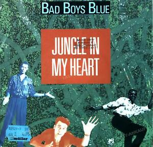 Bad Boys Blue - Jungle In My Heart 7in 1991 (VG/VG) .
