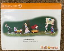 Department 56 Halloween Halloween Parade used  in original box