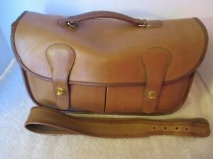 """COACH Vintage NYC Tabac Leather """"Musette"""" Bag - Circa 1970's- Refurbished -EVC"""