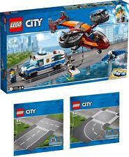 LEGO City Polizei Diamantenraub 60209 60236 60237 Gerade Kreuzung N1/19