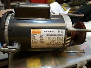 Dayton 1/2 HP Jet Pump Motor 110v/230v
