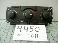A/C & Heater Controls for Dodge Magnum for sale | eBay Air Con Dodge Magnum Fuse Box on