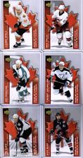 2007/08 McDONALDS PRIDE OF CANADA COMPLETE INSERT SET OF 6 CARDS