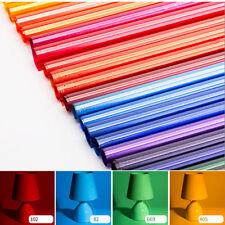 "Colors Lighting Filter Gel Sheets 15x39"" 40x100cm For Photo Camera Studio Lamp"