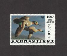 CT5 - Connecticut State Duck Stamp. Single. MNH. OG.