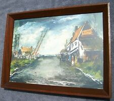Maurice De Vlaminck Framed Lithograph The Barrier