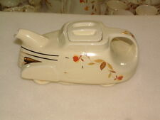 1993 HALL CHINA AUTUMN LEAF AUTOMOBILE CAR TEAPOT EXCELLENT