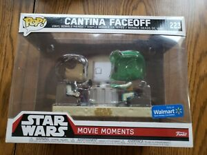 Funko pop Cantina Faceoff star wars movie moment walmart exclusive