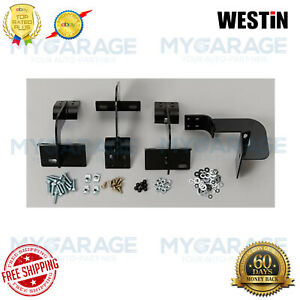 Westin For 2001-2003 Ford F-150 Oval Step Bars Mounting Brackets 22-1055