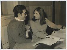 Claudia Giannotti con Umberto Ceriani  Vintage silver print Tirage argentique