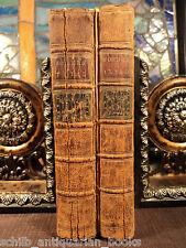 1778 ILIAD OF HOMER / Greek Mythology English Alexander Pope Edinburgh 2v Set
