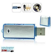 Micro Espion Clé USB Dictaphone Enregistreur 4GO Simple Utilisation