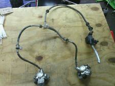 1987 kawasaki tecate 4 front brake lines calipers and lever master cylinders