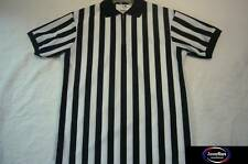 Majestic BASKETBALL FOOTBALL HALLOWEEN COSTUME REFEREE 1/4 Zip Jersey SHIRT XXXL
