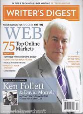 Writers Digest magazine Ken Follett David Morrell 75 top online markets Dialogue