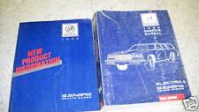 1988 Buick Electra & LeSabre Wagon Repair Service Shop Manual SET W PRODUCT BOOK