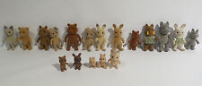 ANIMALS : SET OF 19 SMALL ANIMALS (CATS, BUNNIES, PIGS, & OTHER CREATUES) (SK)