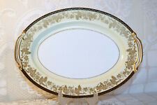 "Noritake China VALENCIA 5086 Japan 11 7/8"" Oval Ham Turkey Serving Platter"