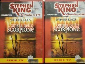 OMBRA DELLO SCORPIONE DVD 1+2 CON LIBRETTI STEPHEN KING BESTSELLER DEAGOSTINI