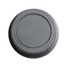 Rear Lens Cap Cover for Canon Rebel EOS EFS EF EF-S EF DSLR SLR Black