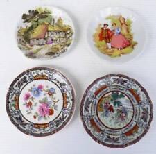 Lot de 4 Jolies Petites ASSIETTES Miniatures pour Maison de Poupée