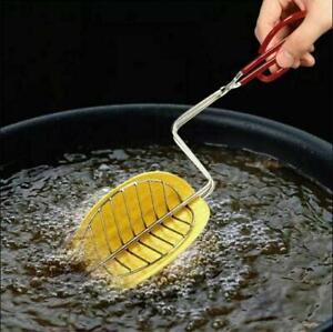 """Taco Maker Press Kitchen Fryer Mold Deep Fried Tortilla Shells Crisp Corn 13"""""""