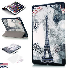 """For iPad Pro 10.5"""" 2017 Luxury Shockproof Leather Smart Case Flip Stand Cover US"""
