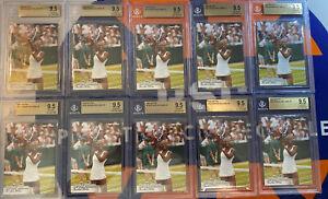Lot (10) 2003 NetPro Tennis Serena Williams SP ROOKIE RC #100 BGS 9.5 GEM MINT