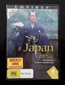 Japan : Memoirs of a Secret Empire - ( DVD, 2003 ) Region 4