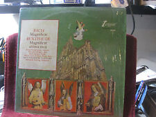 Bach: Magnificat - Buxtehude (reissue) Turnabout rare oop NEW