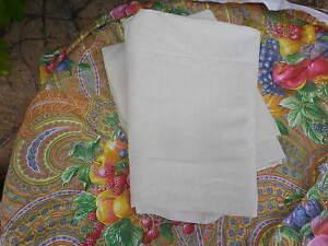 Toile Ancienne Lin & Coton écru  300 cm x 220 cm