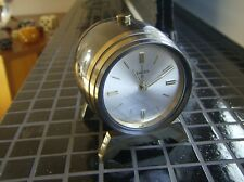 1960er 8 SWIZA birra-vino fusto stupendo orologio da tavolo con 8 giorni fabbrica e sveglia vintage clock
