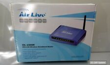 AIRLIVE wl-1500r 802.11g Wireless Broadband Router, WEP, WPS, wpa2, BigPond ISP