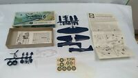 Vintage Airfix Douglas SBD Dauntless WW2 US Bomber Scout Plane Model Kit 1:72
