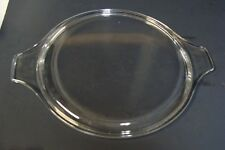 Vtg Pyrex 475-C Clear Glass Replacement Lid Fits Round Casseroles