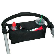 Buggy Organizer Kinderwagen Tasche Flaschenhalter Getränkeflasche Baby Kind Netz