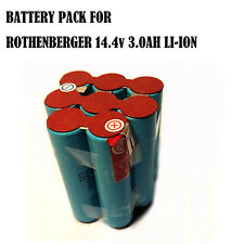 Battery Repacking pack For Rothenberger 14.4V 3.0Ah Li-ion compact crimping tool
