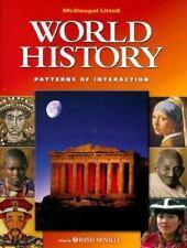 McDougal Littell World History Patterns of Interaction: World History : Patterns