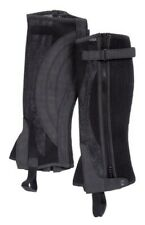 Tough 1 Breatheable Half Chaps Black Medium