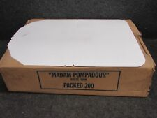 "New! ""Madam Pompadour"" Dry Cleaning Dress Form for Hangers, 200-Count Case"