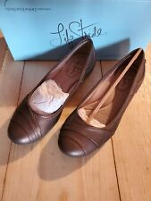 Life Stride Women's Memory Foam Ballet Flats Shoes Bronze Size 6M NIB