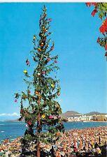 BG11876 las palmas de gran canaria arbol navideno en la playa las canteras spain